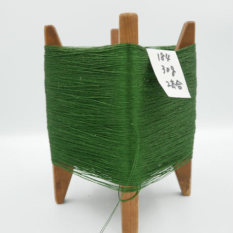 国産絹糸 江州だるま糸 西陣織で使われている手機用緯糸 木枠付き no.184