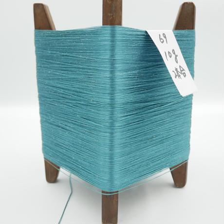 国産絹糸 江州だるま糸 西陣織で使われている手機用緯糸 木枠付き no.69