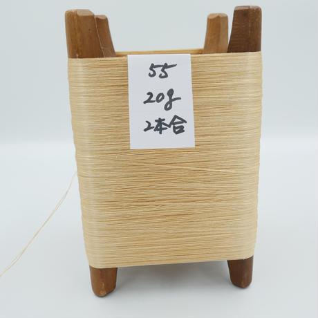 国産絹糸 江州だるま糸 西陣織で使われている手機用緯糸 木枠付き no.55