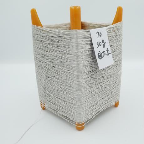 国産絹糸 江州だるま糸 西陣織で使われている手機用緯糸 プラスティック枠付き no.70