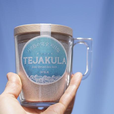 TEJAKULA  バリ島の完全天日塩【あらじお】木蓋エコマグ 160g