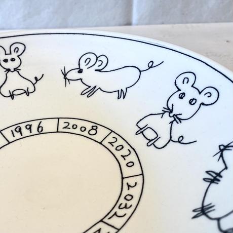 子ネ鼠七寸鉢