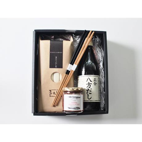 Summer GiftーGift_2021 Somen & Noodle soup & SAMBAL SAUCE & Chopsticks