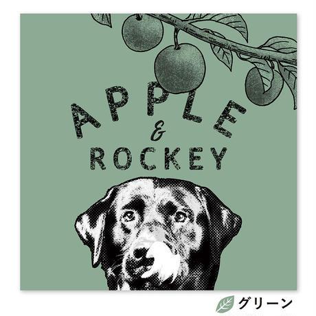 Apple and me (リンゴと僕) S0サイズ(18.0×18.0cm)