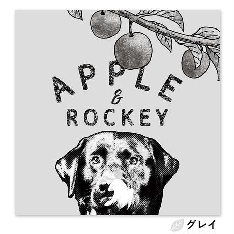 Apple and me (リンゴと僕) S3サイズ(27.3×27.3cm)