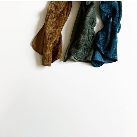 ベルベットリネンハンカチ(カラー) ロングサイズ