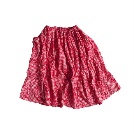 ワイドゴムスカート