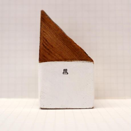 【奥田千珠】 白い家(S-124)