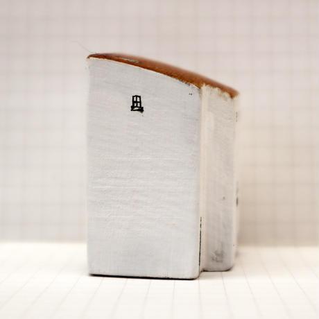 【奥田千珠】 白い家(S-119)