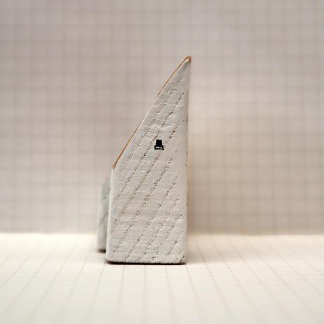 【奥田千珠】 白い家(S-123)