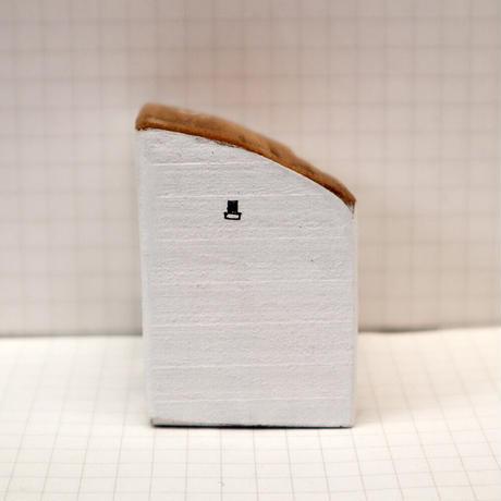 【奥田千珠】 白い家(S-130)
