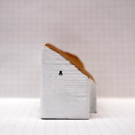【奥田千珠】 白い家(S-132)