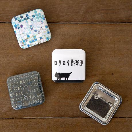FOTO缶バッジ#ロクロク倶楽部