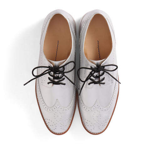 AIR WING TIP SHOES  / SILVER (unisex)