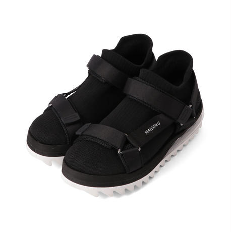 AIR SPORTS SANDAL WITH SOCK  / BLACK&WHITE (unisex)