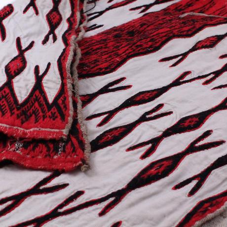 a half piece of wool shawl