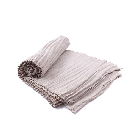 Long wrap pleats skirt fabric   【C⑤】