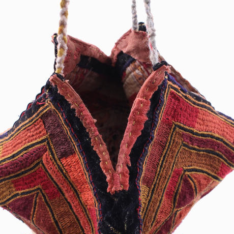 Banjara lace up coconut  bag   【No.JK-033】