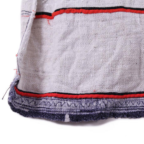 Long wrap pleats skirt【Batik①】