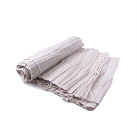 Long wrap pleats skirt fabric   【A①】