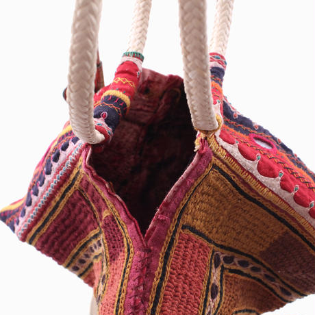 Banjara ring coconut  bag     【No.JK-032】