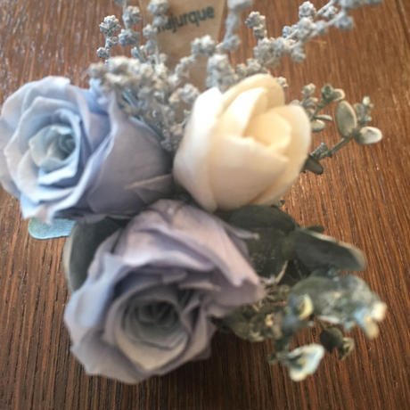 *natural Preserved Flowers Arrangement mini* flowers cake*MJ055
