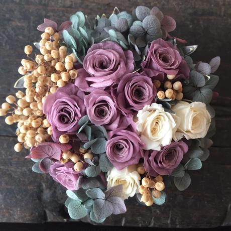 *Natural preserved flowers arrangement*MJ012