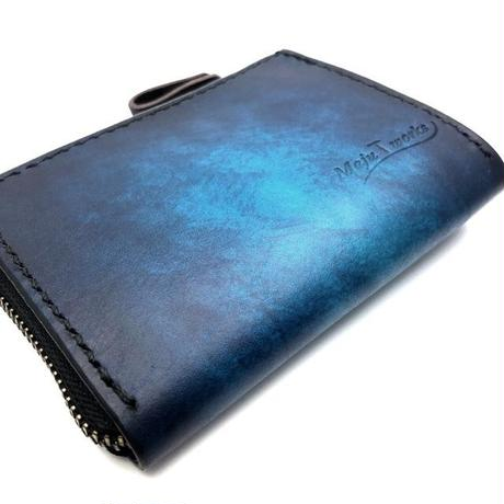 Leather Wallet Ⅰ / Cobalt blue