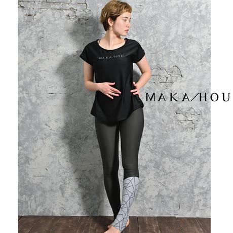 スイム&ヨガレギンスパンツ 【71W13-12S】MAKA-HOU / Leggings pants