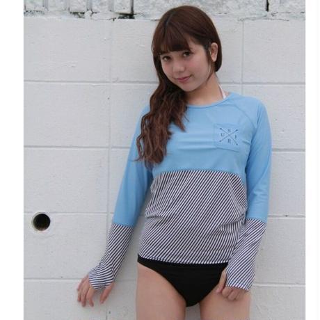 【訳アリにつき60%OFF】Rash Guard With Bikini Pants(ラッシュガード1体型) 21W10/61S