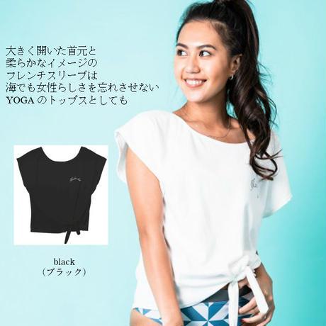 裾しぼりTシャツ 【12W05-02S】MAKA-HOU/ T-shirts