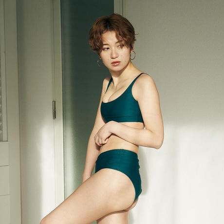 ハイウエストビキニパンツ 【40W02-12S】/MAKA-HOU Surf High waist Bikini pants