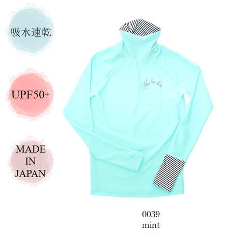 タートルネックラッシュガード 【15W06-02S】 MAKA-HOU/ Turtle neck