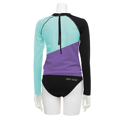RASH GUARD WITH BIKINI PANTS (ラッシュガード1体型) 21W14/71S