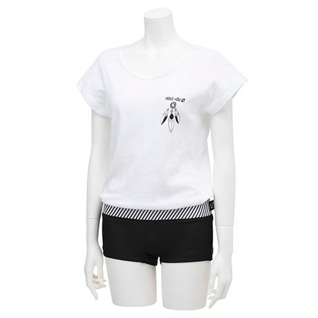 T-SHIRTS WITH HOT PANTS    (Tシャツ1体型) 22W02/71S