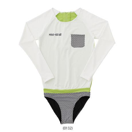 訳有り商品につき50%OFF! Rash Guard with Bikini Pants 【21W03/41S】     UVカットUPF50+ 吸水速乾