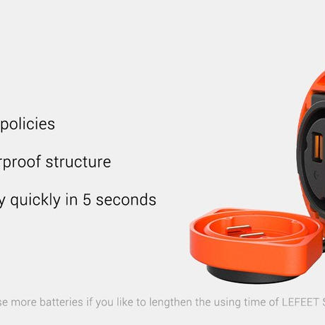 LEFEET Extra Battery