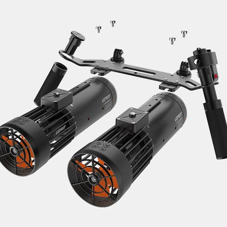 LEFEET Dual Jet Rail Kit