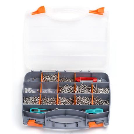 ハードウェア&ツールボックスキット(3箱セット)MakerSpace Kits-Hardwares and Tools makeblock 99055