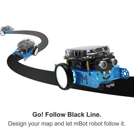 プログラミング学習ロボット「エムボット」日本正規品 ■自宅学習応援割引中■ mBot V1.1-Blue(Bluetooth Version)makeblock 99095