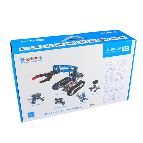 ウルティメイト2.0 Ultimate 2.0 Robot Kit makeblock 99090 99040