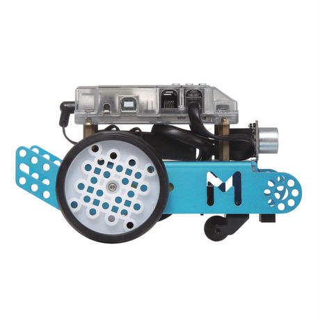 プログラミング学習ロボット「エムボット」リチウムバッテリーセット 日本正規品 ■自宅学習応援割引中■ mBot V1.1-Blue(Bluetooth Version)