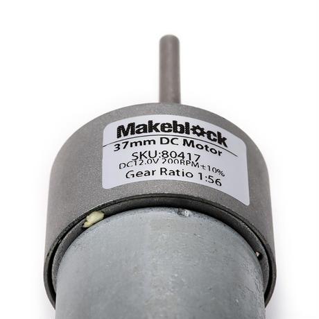 DC モーター 200RPM DC Motor-37 12V/200RPM makeblock 80417