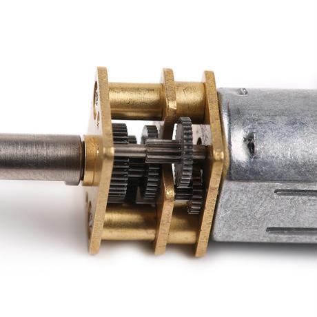 ミニメタルギアモーター Mini Metal Gear Motor - N20 DC 12V/100RPM makeblock 80600