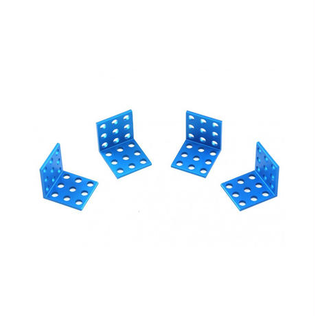 Bracket 3 x 3 - Blue (4-Pack) 直角ブラケット3×3(4本セット) 61500