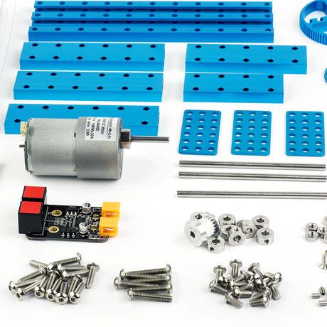 ロボットアーム改造パック Robot Arm Add-on Pack for Starter Robot Kit-Blue  makeblock 98000