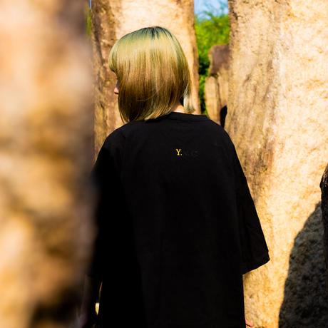 """YELLOWMAKER"" BOX LOGO Big silhouette  T-shirts"
