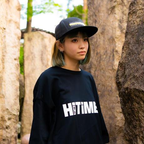 """Hi TiME Hi TRIP"" Big silhouette T-shirts"