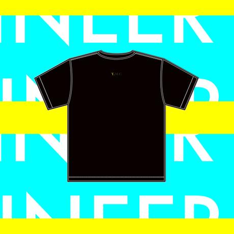 """【予約販売】YELLOWMAKER """"SUPER Genius"""" Big silhouette T-shirts"""