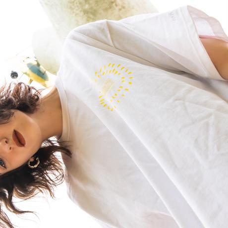 """【🔴展覧会限定カラー】 """"TOGENKYO"""" Big silhouette T-shirts 【White】  (XL only)"""